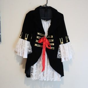 Leg Avenue Women's Pirate Costume sz Large
